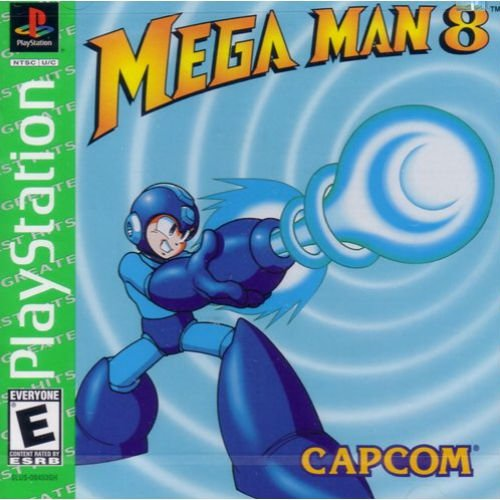 Mega Man 8 Anniversary Edition Instruction Booklet User's Guide Book Manual for Sony PlayStation 1 PS1