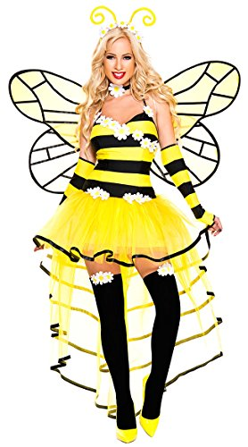 Women's Deluxe Queen Bee Costume - M/L