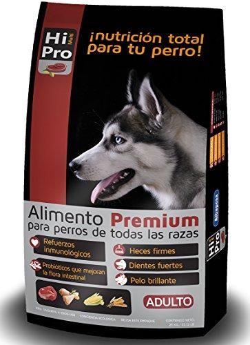 Hi Multipro Alimento Premium Adulto 25kg, 100% Balance Nutricional. con probióticos, Calcio y Proteínas de Alto Valor...