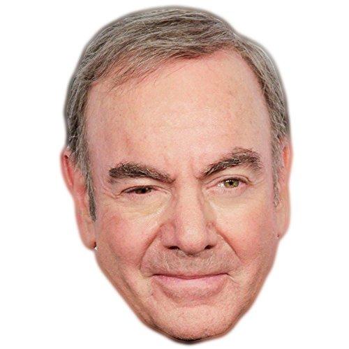 Neil Diamond Celebrity Mask, Card Face and