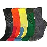 DANISH ENDURANCE Merino Wool Light Socks (Grey 3 Pairs, US Women 11-13 // US Men 9.5-12.5)