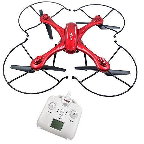 DICPOLIA RC Helicopter,Drones,Remote Control,Mjx x102h Quadcopter with Camera Mounts for gopro/sj Camera Upgraded x101 Drone,Outdoor Racing Controllers RC Flying Helicopter Toy Gift for Adults (Red) (Personal Drone With Go Pro Camera)