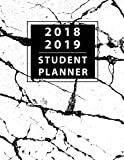 """Student Planner 2018-2019: Daily Monthly & Weekly Planner August 2018 - July 2019, Organizer Calendar and Agendas for College, University and High School 8.5""""x11"""" (Volume 2)"""