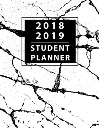 Student Planner 2018-2019: Daily Monthly /& Weekly Planner August 2018 Volume 2 Organizer Calendar and Agendas for College July 2019 University and High School 8.5x11