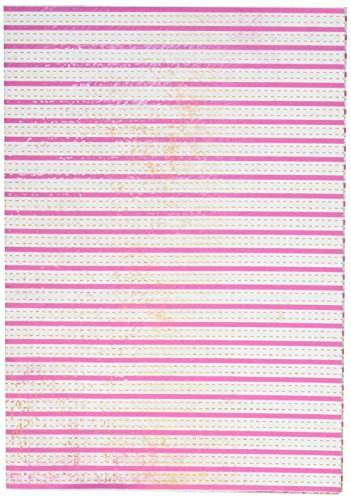 Kaisercraft WP725 19.5-Inch by 27-Inch Printed Sheet Paper, Large, Sherbet Stripes