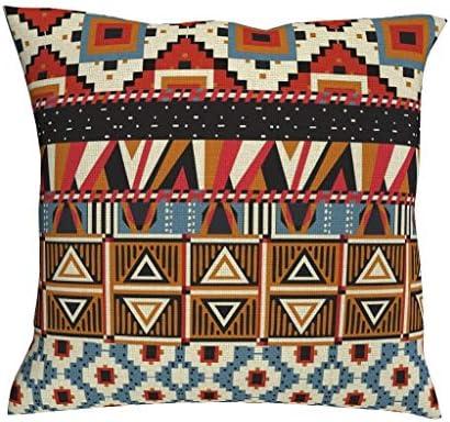 RQPPY Funda de cojín de 18 x 18 Pulgadas de algodón, diseño ...