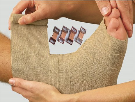Seth-Premium Quality Replacement Elastic Bandage Clips for Elastic Bandages,Compression Bandages,Crepe Bandages,Cotton Bandages,Body Wrap Clips-Secure Elastic Fastener Clips (Pack of 30 Clips). by SETH (Image #6)