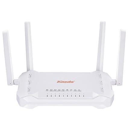 Kasda AC1200 Dual Band Wireless Router, Long Range WiFi Router 5dBi High  Gain Antenna, Easy Setup Via Smartphone, USB2 0, WPS, High Speed Wi-Fi for