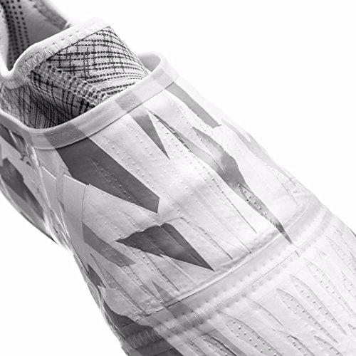 Adidas Mens X 16.1+ Purechaos Fg Witte / Kern Zwarte Voetbalschoenen