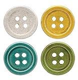 Creative Co-Op DA1716 Set of 4 Multicolor