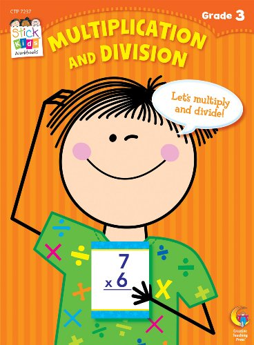 Multiplication and Division Stick Kids Workbook, Grade 3 (Stick Kids Workbooks)