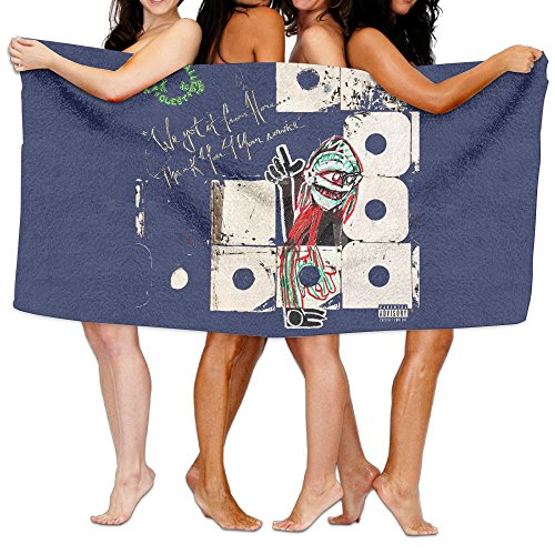 (Uolongqul A Tribe Called Quest We Got It From Here Bath Towel Colorful Beach/Bath/Pool Towel 51.2