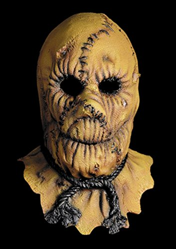 Scarecrow Scary Horror Monster Latex Adult Halloween Costume Mask (Mask Latex Scarecrow)