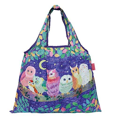 Designer Dog Totes - PRAIRIE DOG reusable shopping bags foldable (Good night)