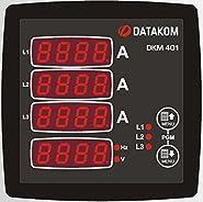 DATAKOM DKM-401 Digital Multimeter Panel, 96x96mm, 3 Phase