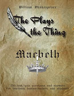 Amazon macbeth study questions and answers the plays the macbeth study questions and answers the plays the thing book 2 fandeluxe Choice Image