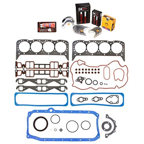 Evergreen Engine Rering Kit FSBRR8-10116\0\0\0 Fits 96-02 Cadillac Chevrolet GMC VORTEC 5.7 OHV VIN R Full Gasket Set, Standard Size Main Rod Bearings, Standard Size Piston Rings