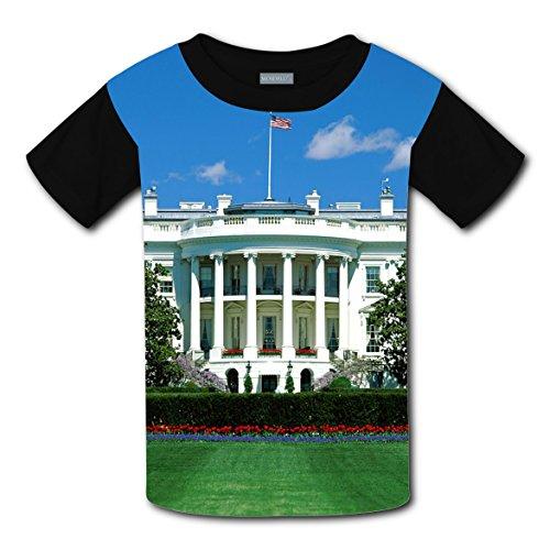 CODOIT White House Short Sleeve Crew Neck T-Shirt For (Engineer Pocket Seal)