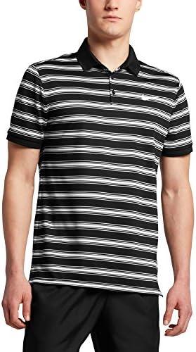 メンズ シャツ Nike Men's Court Dry Striped Tennis Polo [並行輸入品]