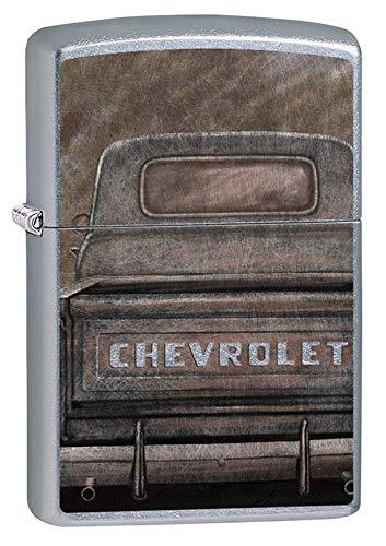 Zippo Lighter: Chevrolet Vintage Pickup Truck - Street Chrome 79611