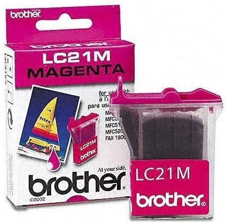 Retail Brother LC21M Magenta OEM Genuine Inkjet//Ink Cartridge 450 Yield