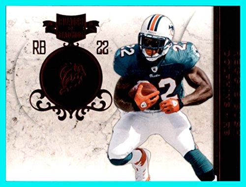 299 Bush - 2011 Panini Plates and Patches #66 Reggie Bush Miami Dolphins Serial #217/299