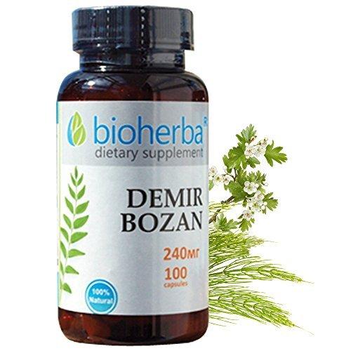 - Demir Bozan, 240 mg, 100 capsules by Bioherba R
