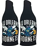 NBA New Orleans Hornets Throwback Vintage Zip Up Bottle Suit Cooler 2 pack