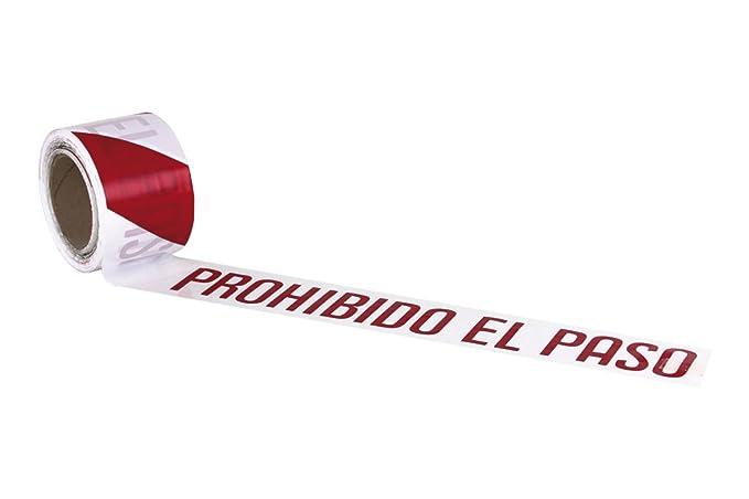Cofan 11000331 Cinta Balizamiento Prohibido El Paso