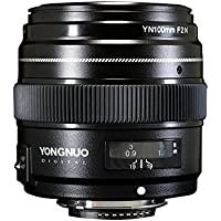 YONGNUO 100mm F2N 1:2 AF MF Large Aperture Auto Prime Focus lens for Nikon DSLR Cameras