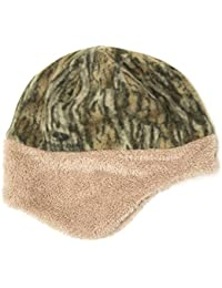 Reversible Fleece Hat With Faux Fur Trim- Womens Winter Hat With Ear Flaps