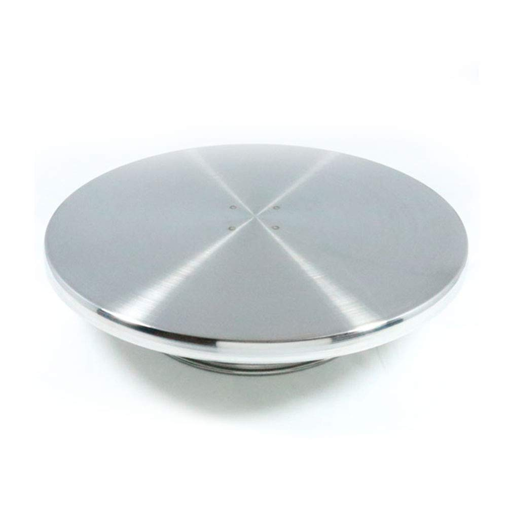 Hanason Cake Decorating Stainless Turntable and Cake Stand