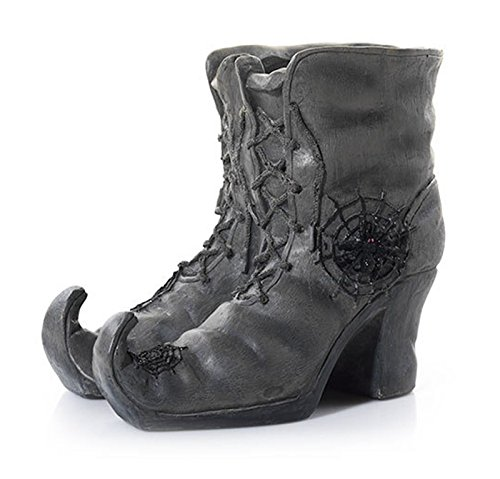 yankee candle holder wicked web witch s boots investment. Black Bedroom Furniture Sets. Home Design Ideas