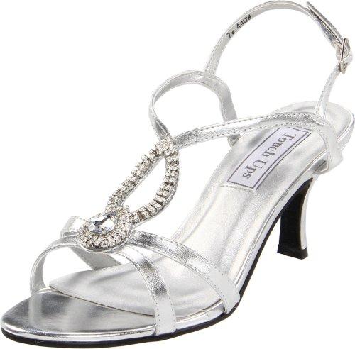 Touch Ups , Damen Sandalen Silber silber, Silber - silber - Größe: 38.5