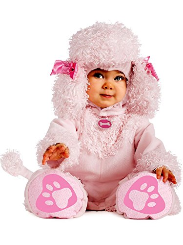 Rubie's Cuddly Jungle Pink Poodles of Fun Romper Costume, Pink, 12-18 Months -