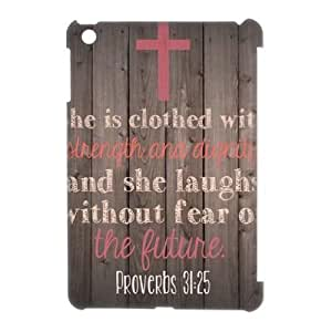 she laughs without fear of future Cheap Custom 3D Cell Phone Case Cover for iPad Mini, she laughs without fear of future iPad Mini 3D Case