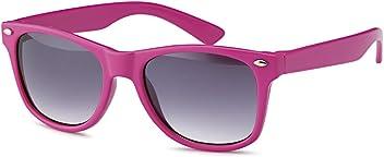 Wayfarer Kindersonnenbrille für Kinder in 4 Farben aus Kunststoff - UV 400 Filter und CE-Prüfzeichen