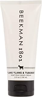 product image for Beekman 1802 - Hand Cream - Ylang Ylang & Tuberose - Moisturizing & Hydrating Goat Milk Hand Lotion for Dry & Sensitive Skin - Daily Hydration - Goat Milk Hand Care - 2 oz