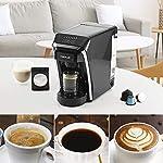CHULUX-Macchina-da-caffe-automatica-1400-W-tempo-di-riscaldamento-14-secondi-serbatoio-dellacqua-rimovibile-800-ml-7-Levels-brewing-size-compatibile-con-Nespresso-e-Dolce-Gusto