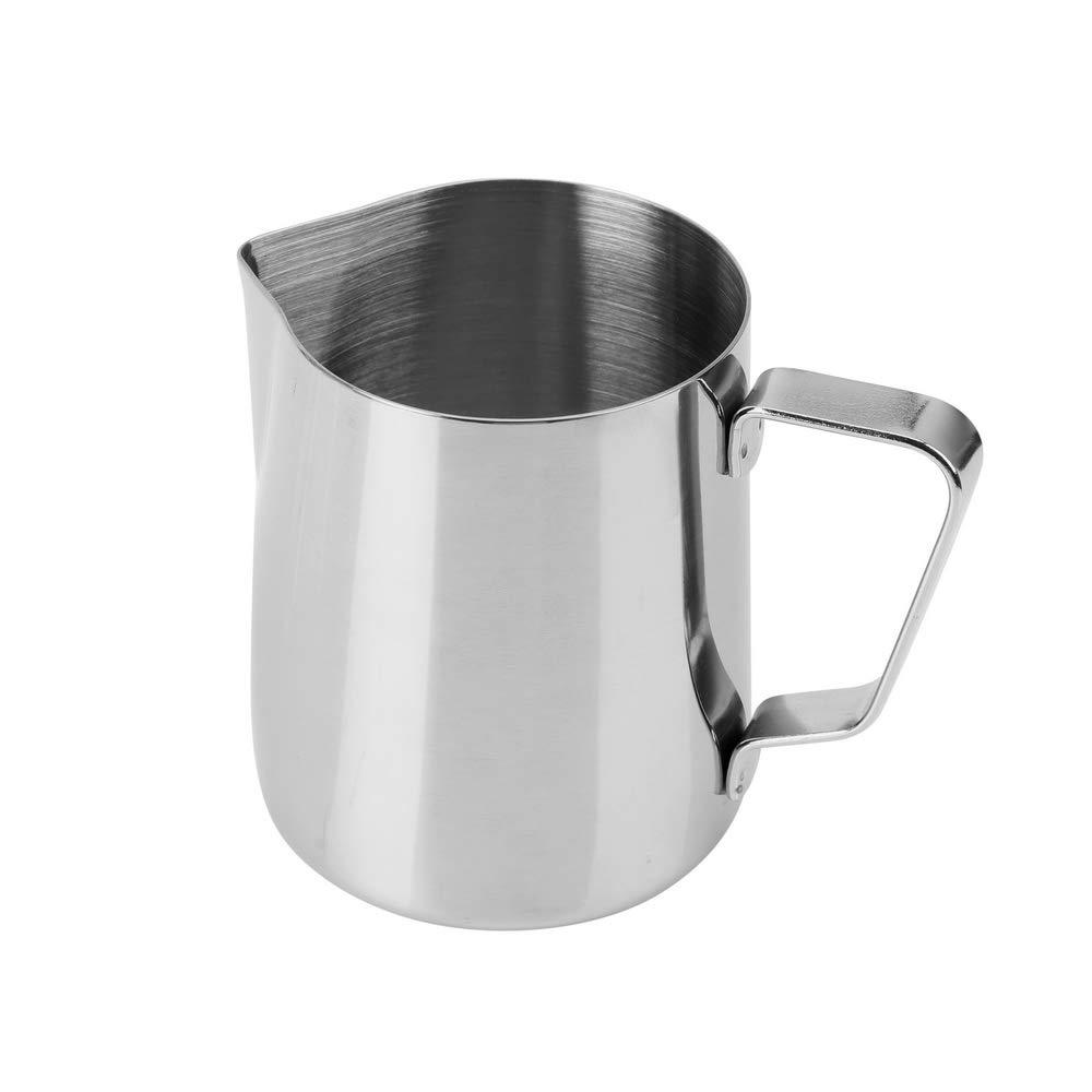 Stainless Steel Milk Frothing Mug Cup Coffee Latte Pitcher Barista Craft Jug UK
