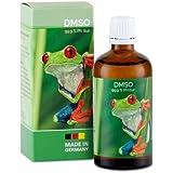 Dimetilsulfóxido (DMSO) 99,9 % de pureza farmacéutica en botella de cristal con dosificador, probado por Farmacopea…