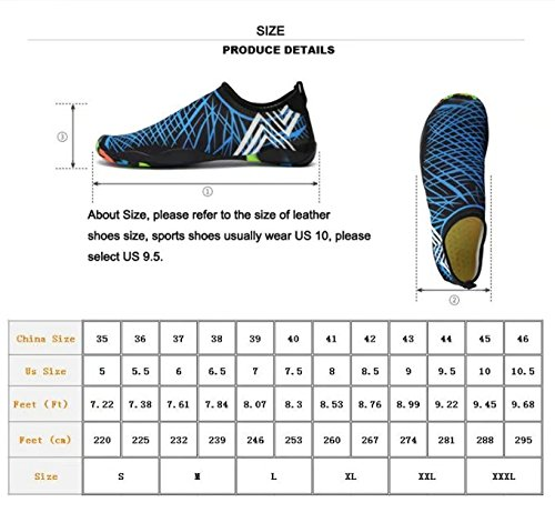 1 Diving Womens Water Women Aerobics daily Water Socks Shoes Mens Pool Eco Non Shoes Aqua Shoes Swim Camouflage Yoga Shoes for Beach Slip Surf Barefoot Sp1fqY