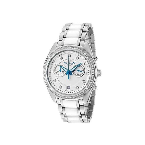 ISW Infinity suizo reloj cronógrafo acero inoxidable reloj hombre-1007-01