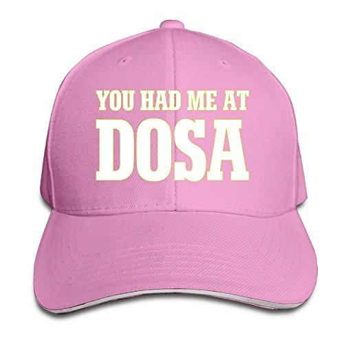 YOU HAD ME AT DOSA Adjustable Baseball Snacpback Cap