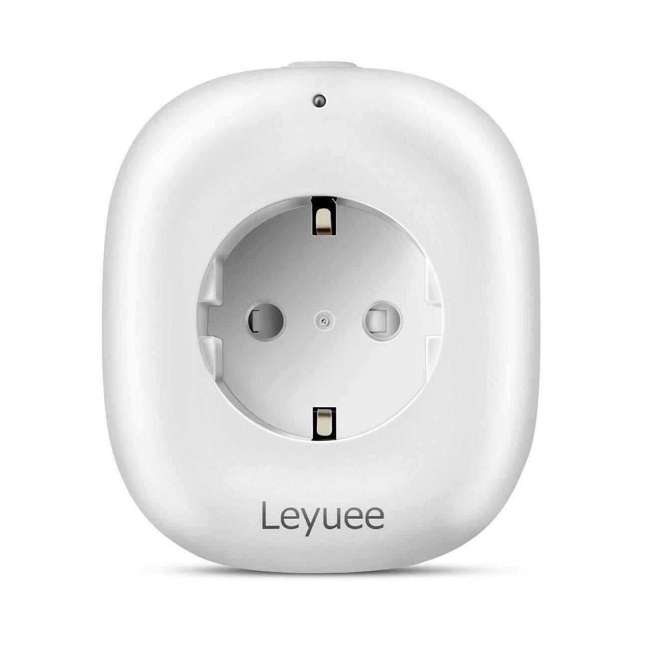 2 St/ück intelligente WLAN Steckdose zur Fernbedienung aller Ger/äte an Steckdosen von /Überall /über das Internet und /Über  Alexa Echo Sprachsteuerung WiFi Smart Plug Leyuee WiFi Steckdose