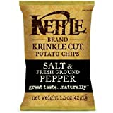 kettle chips pep - Kettle Slt & Pep Krinkle 24x each 1.5OZ