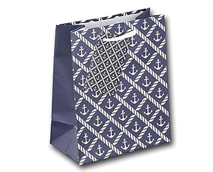 Juego de 12 bolsas ancla azul blanco bolsas bolsas bolsas ...