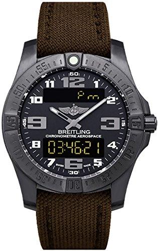 Breitling Quartz Chronograph (Breitling Professional Aerospace Evo Men's Watch V7936310-BD60-108W)