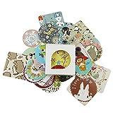SODIAL(R) 38 pcs/bag Diary Decoration Scrapbooking DIY Cute Kawaii Paper Sticker, Animal