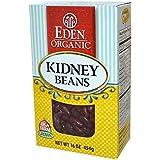 Eden Foods Organic Dry Dark Red Kidney Beans, 16 Ounce -- 12 per case.